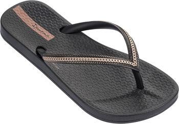 Ipanema Anatomic Metallic jr slippers Meisjes Zwart
