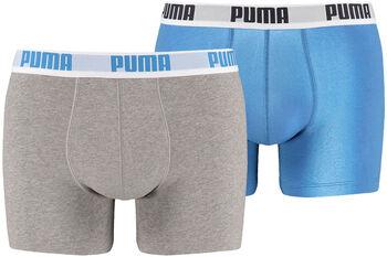 Puma Basic 2-pack boxers Heren Blauw