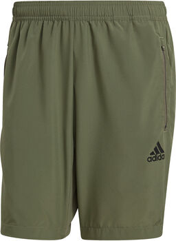 adidas AEROREADY Designed 2 Move Woven Sport Short Heren Groen