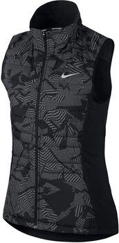 Nike Essential Flash Running bodywarmer Dames Zwart