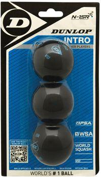 Dunlop Intro Blister squashballen Blauw