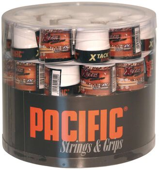 Pacific X Tack Pro 0.55mm tennis overgrip Wit