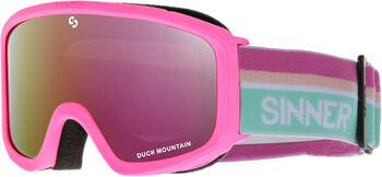 Sinner Duck Mountain skibril Roze