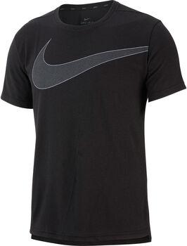 Nike Breathe Top Hyperdry shirt Heren Zwart