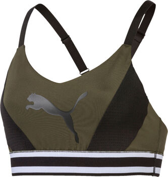 Puma Logo sportbeha Dames Zwart