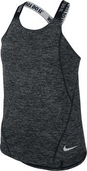 Nike Dry top Meisjes Zwart
