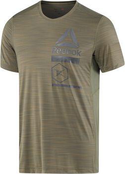 Reebok Activchill Zoned Graphic shirt Heren Groen
