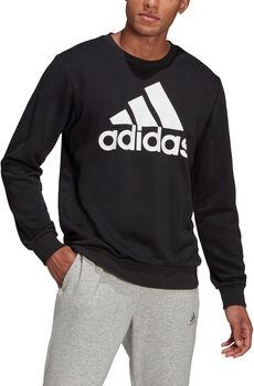 adidas Essentials Big Logo Sweatshirt Heren Zwart