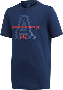 ADIDAS Athletics Club Graphic shirt Blauw