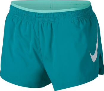 Nike Elevate Track short Dames Groen