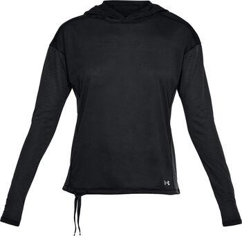 Under Armour Threadborne sweatshirt Dames Zwart