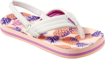 Reef Ahi Wedge kids slippers Meisjes Roze