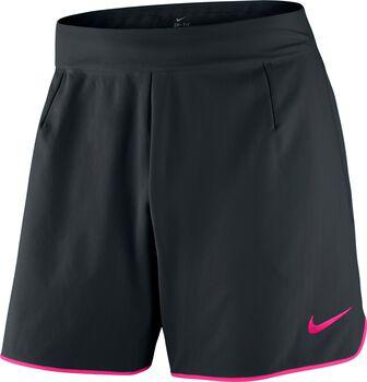 Nike Court Flex short Heren Zwart