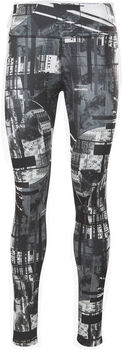Reebok Intersport All Over Print legging Dames Zwart