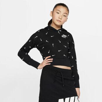 Nike Sportswear kids hoodie  Meisjes Zwart