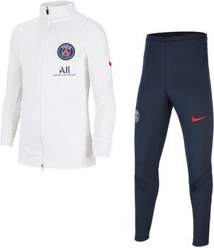 Nike Paris Saint-Germain Strike kids trainingspak Jongens Wit