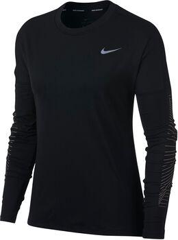 Nike Dry Element shirt Dames Zwart