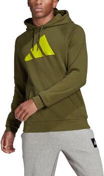 adidas Sportswear Badge of Sport Hoodie Heren Groen