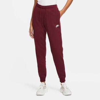 Nike Sportswear Essential broek Dames Rood