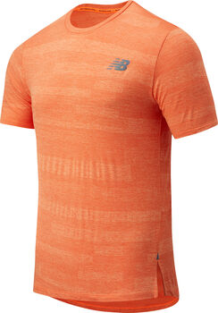 New Balance Speed Fuel shirt Heren Rood