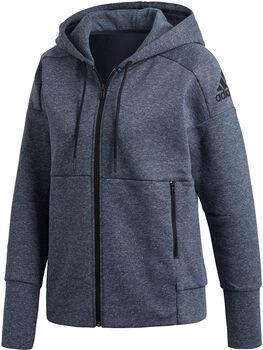 ADIDAS ID Stadium hoodie Dames Blauw