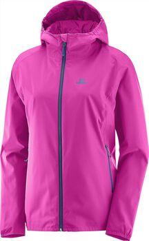 Salomon essential jacket Dames Roze