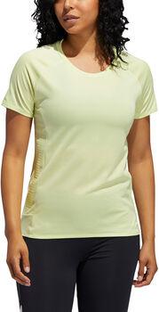 adidas 25/7 Rise Up N Run Parley shirt Dames Geel