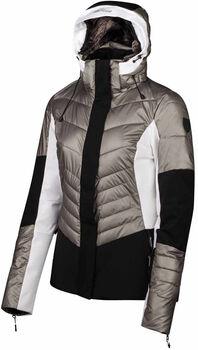 Falcon Tyndall ski-jack Dames Grijs