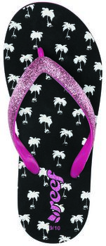Reef Stargazer Prints jr slippers Jongens Zwart