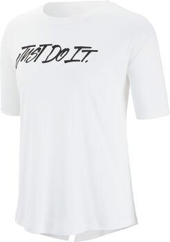Nike Dry Elevated JDI shirt Dames Wit