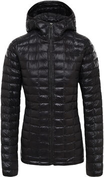 The North Face Thermoball Eco hoodie Dames Zwart