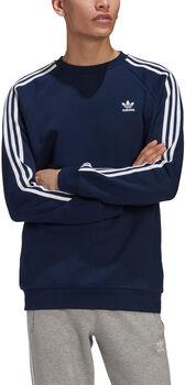 adidas 3-Stripes Crew sweater Heren Blauw
