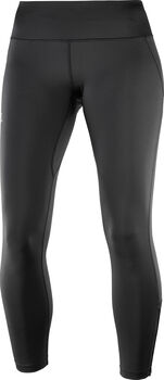 Salomon Agile Long tight Dames Zwart