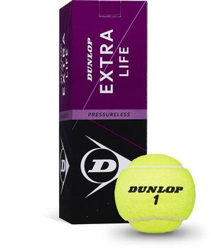 Dunlop Extra Life tennisballen Geel