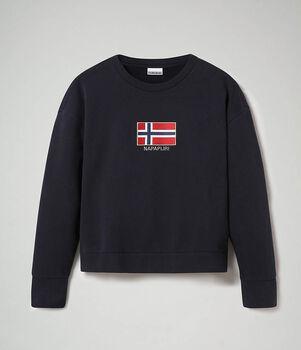 Napapijri Bhea sweater Dames Blauw