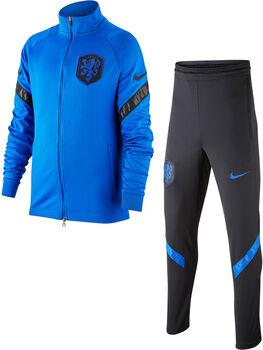 Nike Nederland 2020 Strike kids trainingspak Jongens Blauw