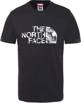 The North Face Extent II Logo shirt Heren Zwart