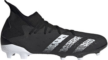 adidas Predator Freak.3 Firm Ground Voetbalschoenen Heren Zwart