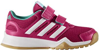 Adidas Interplay CF jr indoorschoenen Roze