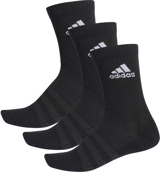 adidas Cushion Crew sokken (3 paar) Zwart