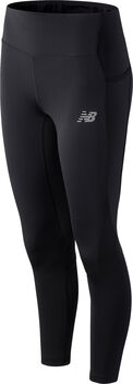 New Balance Impact Run Crop Without Mesh legging Dames Zwart