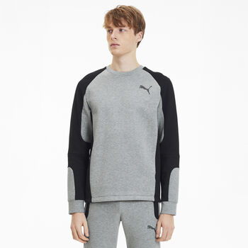 Puma Evostripe sweater Heren Grijs