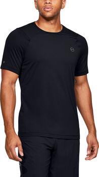 Under Armour RUSH™ HeatGear® Fitted t-shirt Heren Zwart