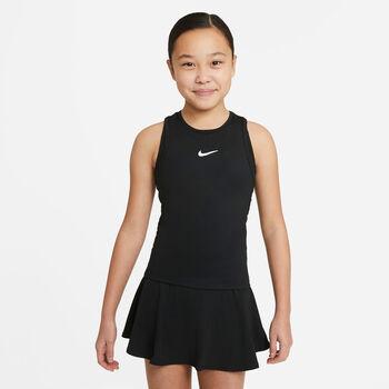 Nike Court Dri-FIT Victory top Zwart