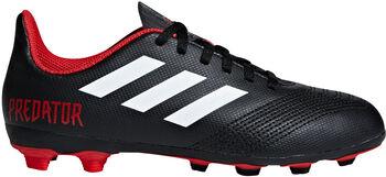 ADIDAS Predator 18.4 FXG jr voetbalschoenen Zwart