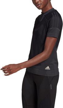 adidas Primeknit T-shirt Dames Zwart