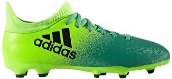 ADIDAS X16.3 FG jr voetbalschoenen Groen
