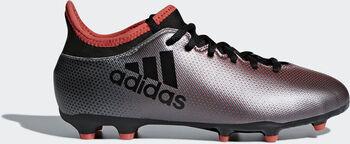 ADIDAS X 17.3 FG jr voetbalschoenen Grijs