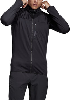 adidas TERREX TraceRocker Fleece jack Heren Zwart