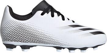adidas X Ghosted.4 Flexible Ground kids voetbalschoenen Wit